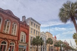 Beautiful downtown Charleston